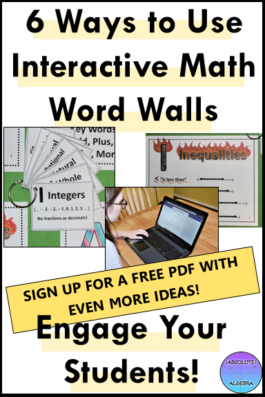 interactive word walls