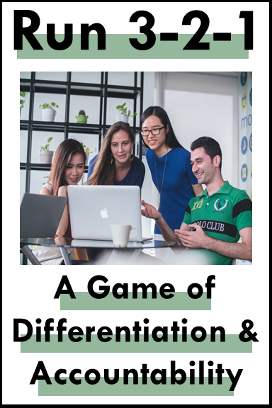 Math Game Classroom Accountability and Differentiation
