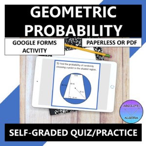 Geometric Probability Google Forms
