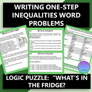 Writing One-Step Inequalities